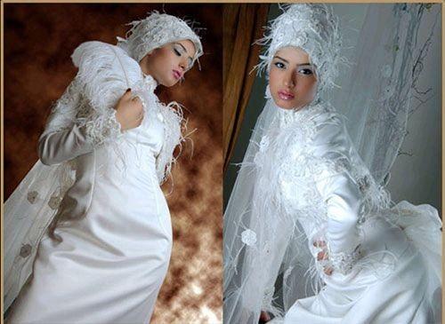 Национальные свадебные хиджабы (81)