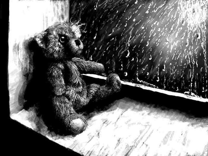 картинки скучно грустно одиноко милый шоколадный торт, украшенный