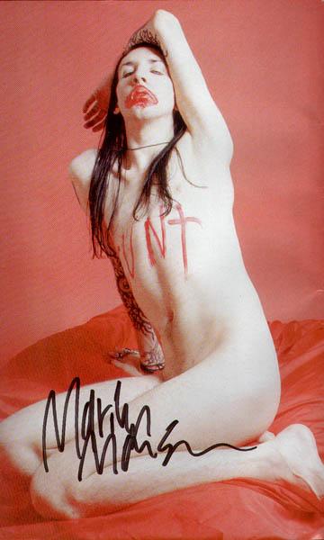 Free marilyn manson nude, full nude sex scenes