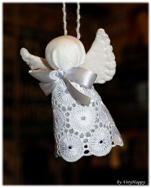 Ангелочек своими руками на ёлку 177