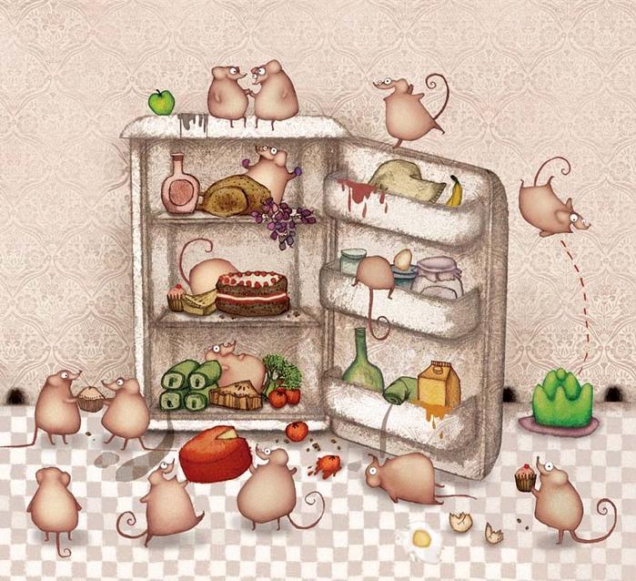 День холодильника открытки, открытка