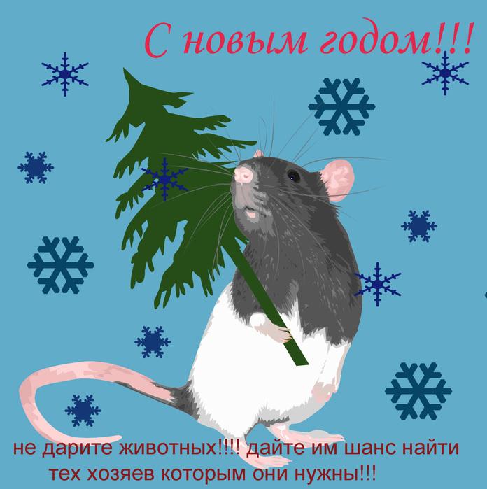 Новогодние поздравления крысе в год крысы