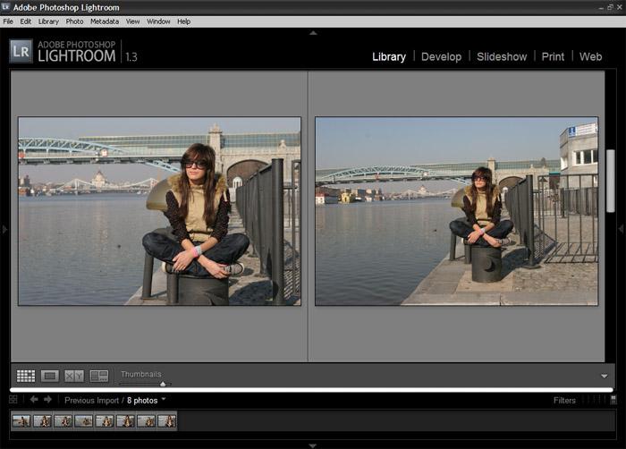 Обработка сразу нескольких фото в лайтрум