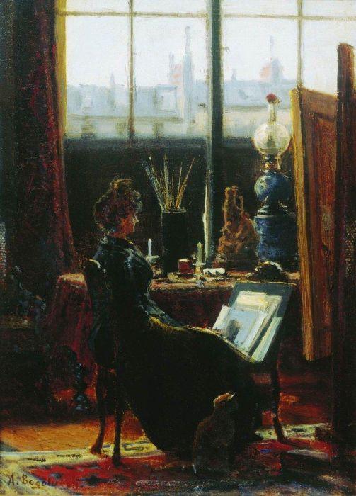 SlideSHOW Мастерская художника-Oil Painting.
