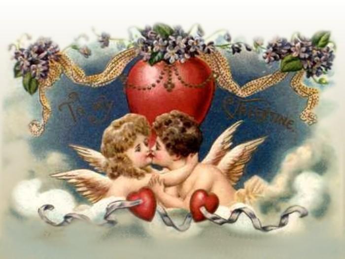 картинки с ангелочками и сердечками сантехника