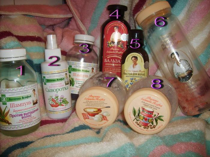 Дерматологический шампунь против выпадения волос бабушки агафьи отзывы
