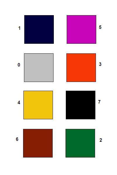 Тест в картинках на основе методики люшера