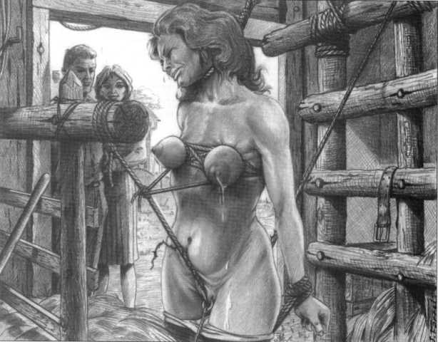 хоть экзекуция грудей рабыни позабавило когда