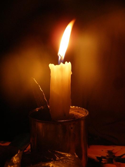 атмосферой, настроениям, поминальная свеча горит картинки розы