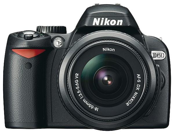 Ходят слухи о новой камере от Nikon - это фотокамера Nikon D65.