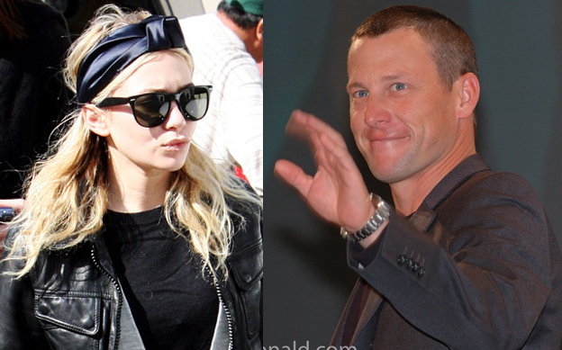 is ashley olsen dating lance armstrong
