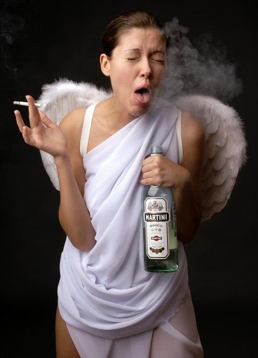 Ангел картинки смешные