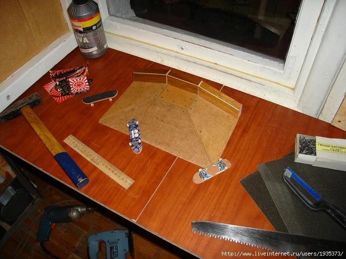 Как сделать свой фингерпарк 63