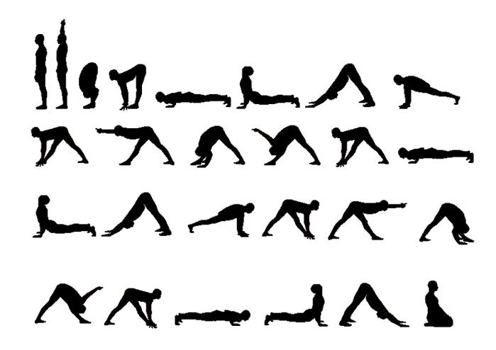 Йога комплекс крокодил в картинках