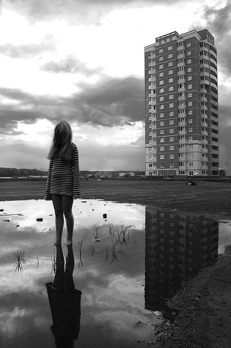 черно белые фото одиночество