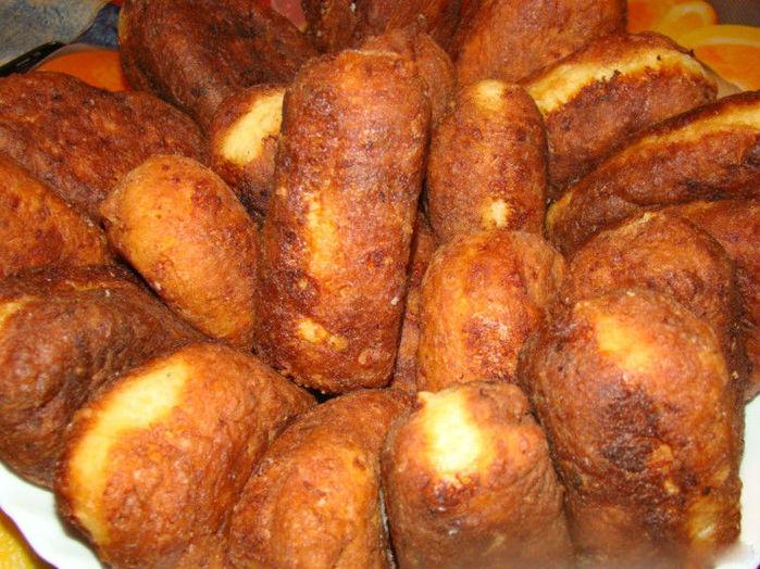 пирожки жареные из творожного теста