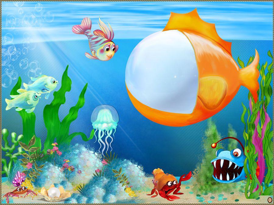Картинки морские тематика детские