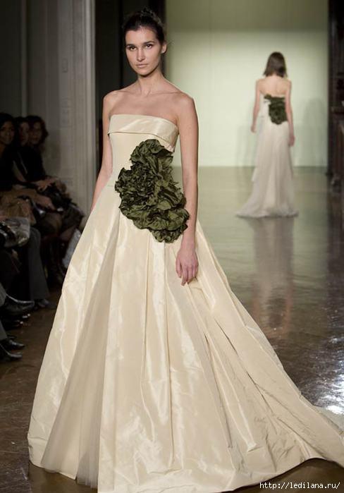 Шикарные свадебные платья от Вера Вонг (10 фото)