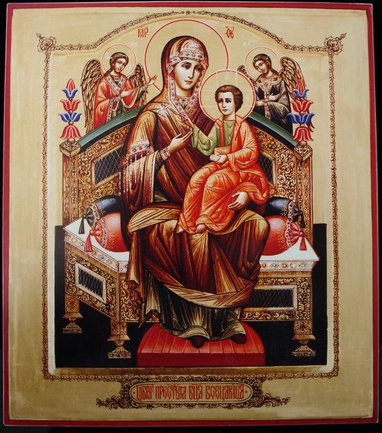 Икона Всецарица - Молитва от рака.. Обсуждение на LiveInternet ...