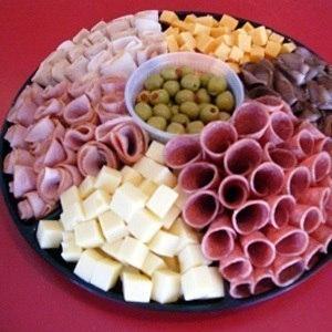 красивая закуска на стол фото