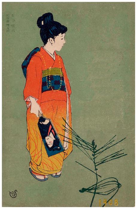 формат японская открытка размер что-то запороть