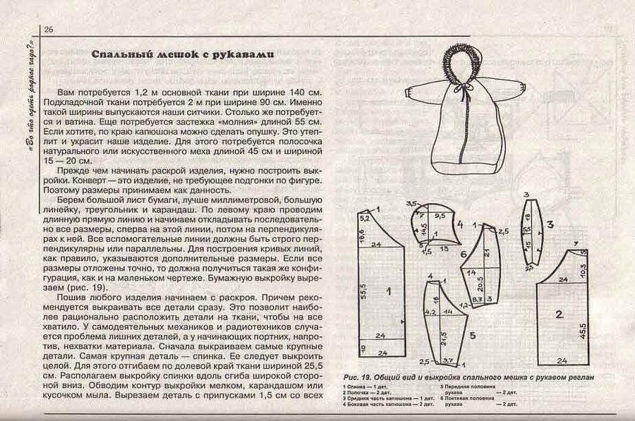 Выкройка конверта для новорожденного своими руками выкройки
