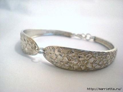 Как сделать кольцо из серебряной ложки (8) (430x322, 69Kb)
