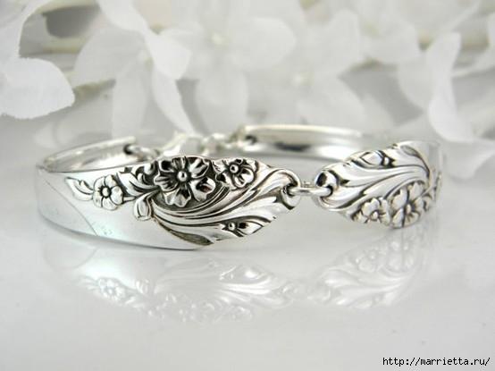 Как сделать кольцо из серебряной ложки (31) (554x415, 92Kb)