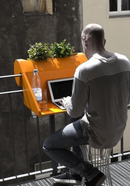 балконная подставка для компьютера