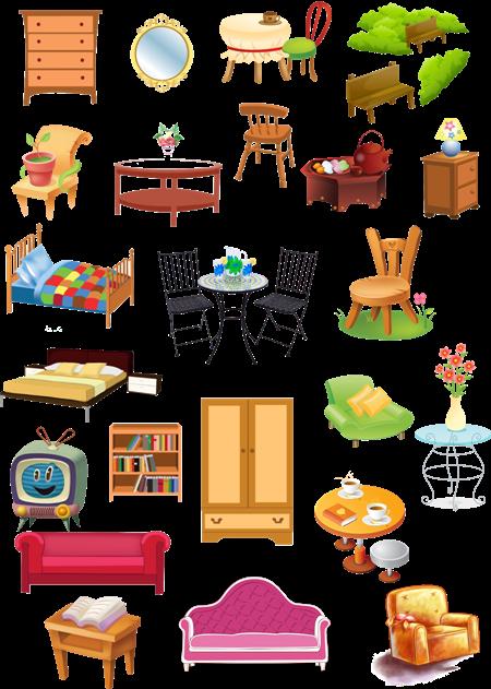 Картинки для садика мебель