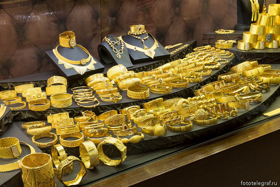 Золотые изделия в стамбуле фото