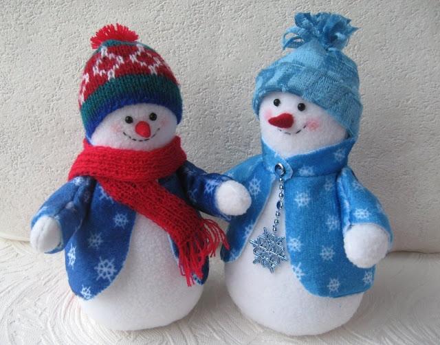 Картинки снеговиков своими руками