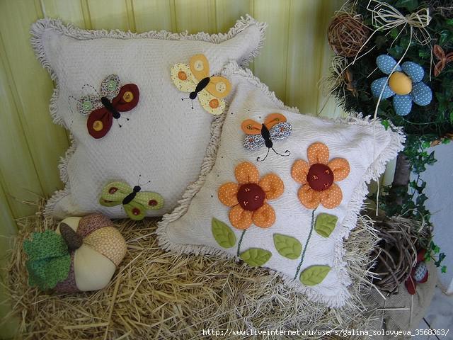 Поделки цветы из ткани - Изготавлимаем цветы
