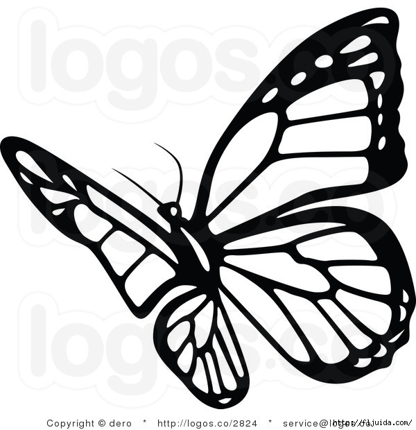 royalty-free-black-and-white-butterfly-logo-by-dero-2824 (600x620, 154Kb)