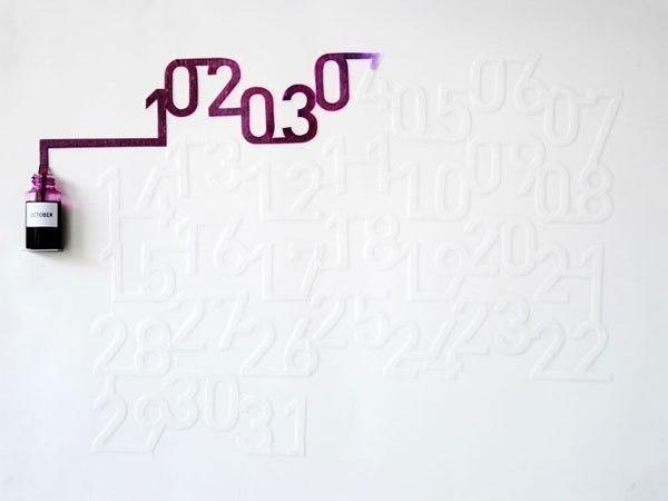 Чернильный календарь Оскара Диазаса