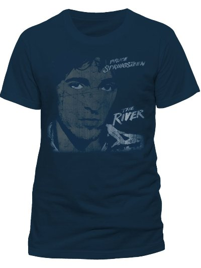 Bruce Springsteen The River Official Mens T Shirt (400x533, 19Kb)
