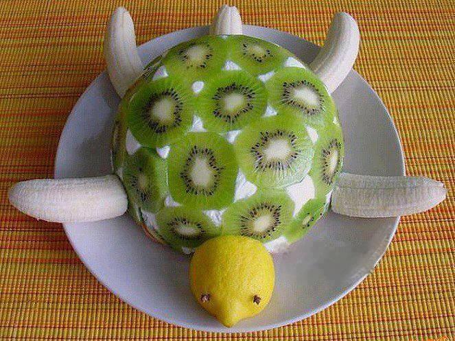 Поделки из овощей и фруктов своими руками. Фото поделок Alamella.ru