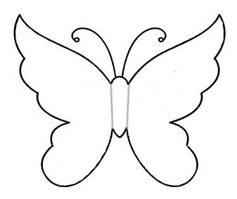 Бабочки из ткани своими руками фото - Поделки