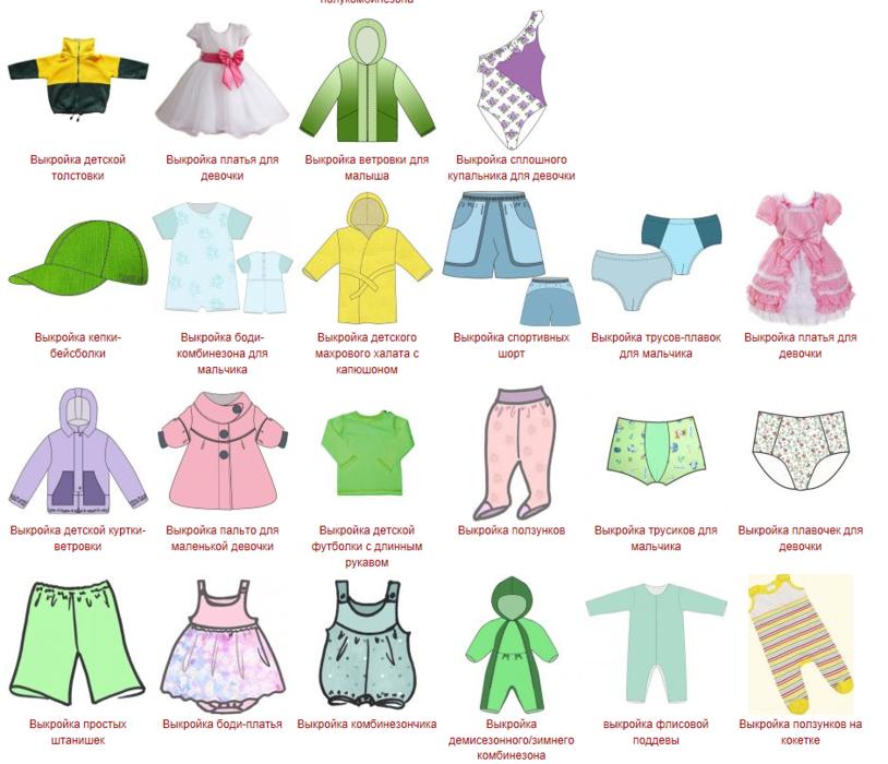 Готовые выкройки детской одежды рисовать персонажей из тетради смерти