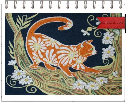 Нетканые гобеленовые картины с котами/3518263_gobi (434x352, 310Kb)