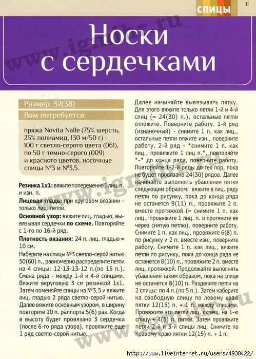 газета азбука вязания