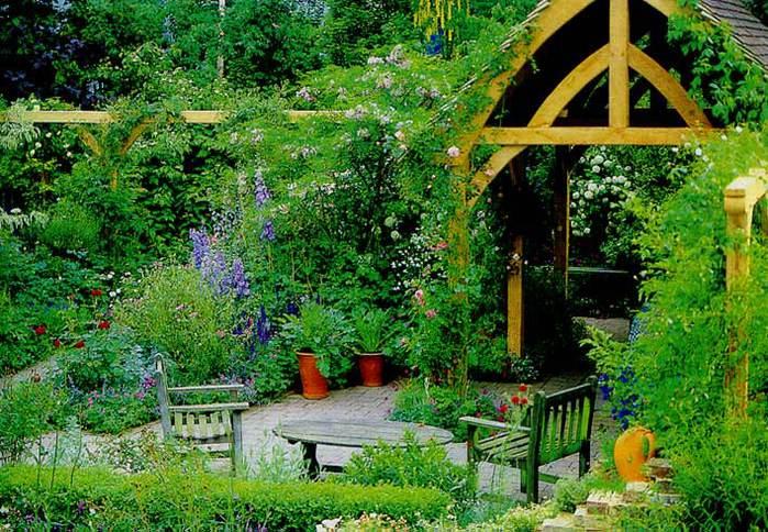 Французский сад своими руками фото 171