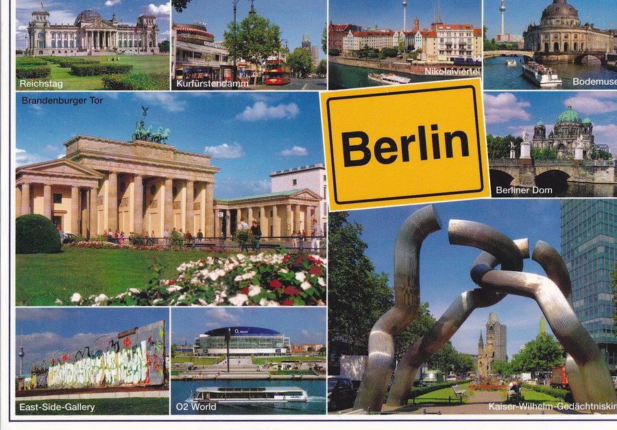 Где отправить открытку в берлине