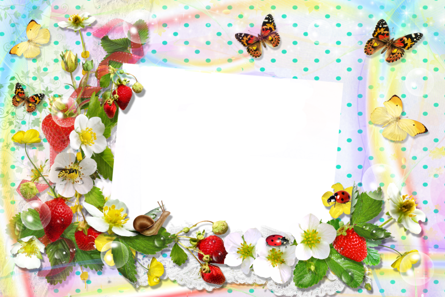 данные правила рамка для фото с ягодами данное произведение