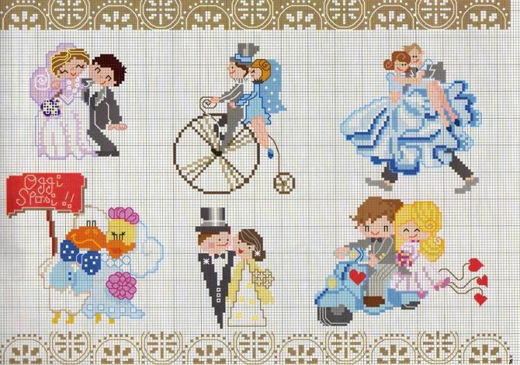 Вышивка крестом открытка на свадьбу, месяца девочке картинки