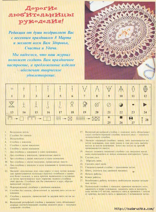 Russian Crochet Terms and U.S. Crochet Terms • Oombawka Design Crochet   700x517