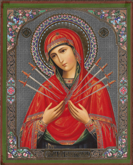 madonna_holding_seven_arrows (564x700, 245Kb)