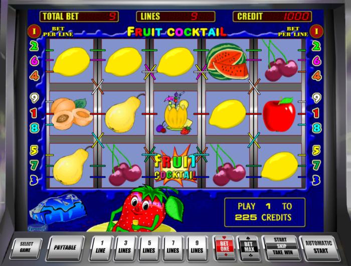 Комбинации в игровых автоматах