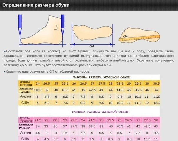 0fbb2f1aa Как правильно измерить размер ноги.. Обсуждение на LiveInternet -  Российский Сервис Онлайн-Дневников
