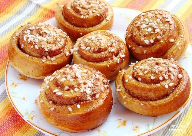 рецепты просто сладкие булочки